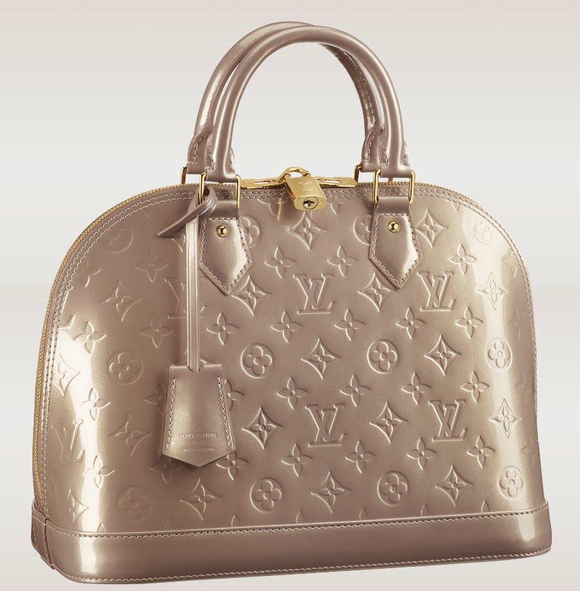 7cf521c00899 Louis Vuitton Vernis Beige Poudre