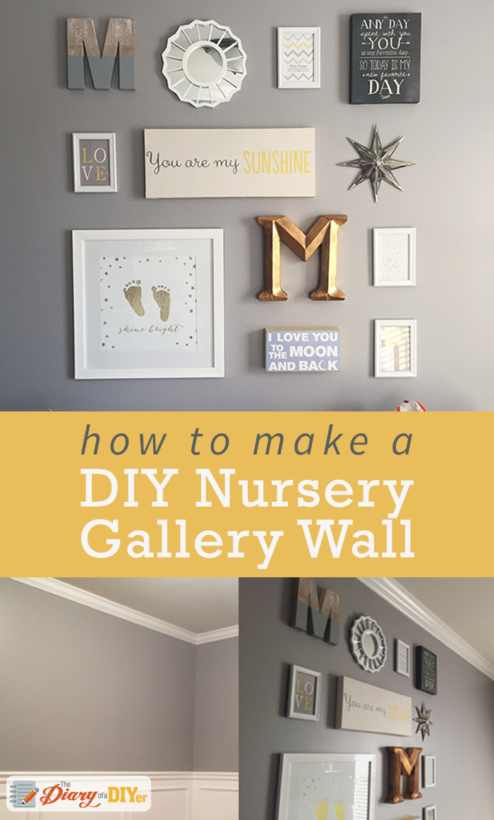 How to Create a Nursery Gallery Wall | Gallery wall, Nursery gallery ...