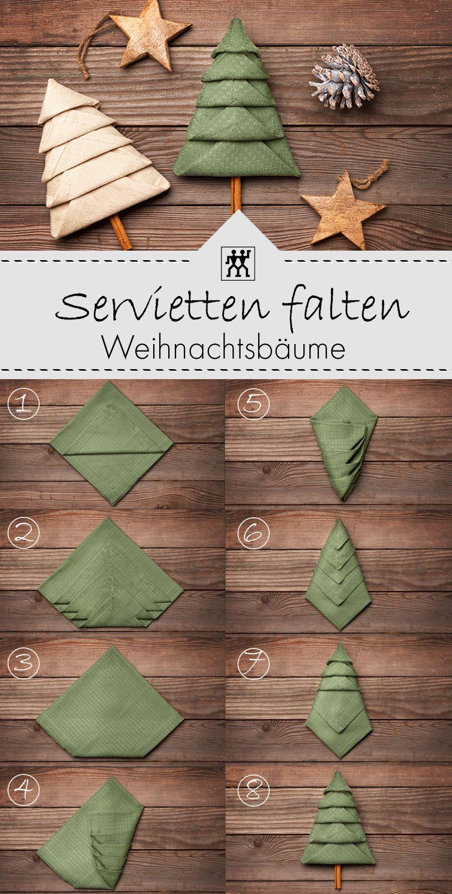 Servietten falten für Weihnachten | ZWILLING Onlin