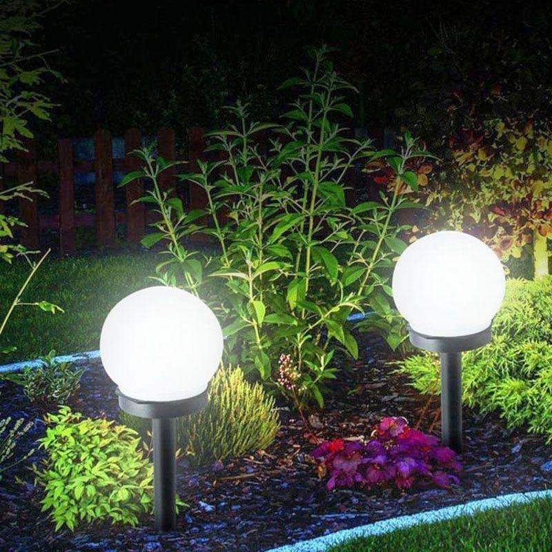 Pas Cher Led Energie Solaire Propulse Ampoule Lampe 33 Cm Etanche Exterieure Jardin Rue Panneau Solaire Boules Lumin Solar Lights Garden Lawn Lights Solar Bulb