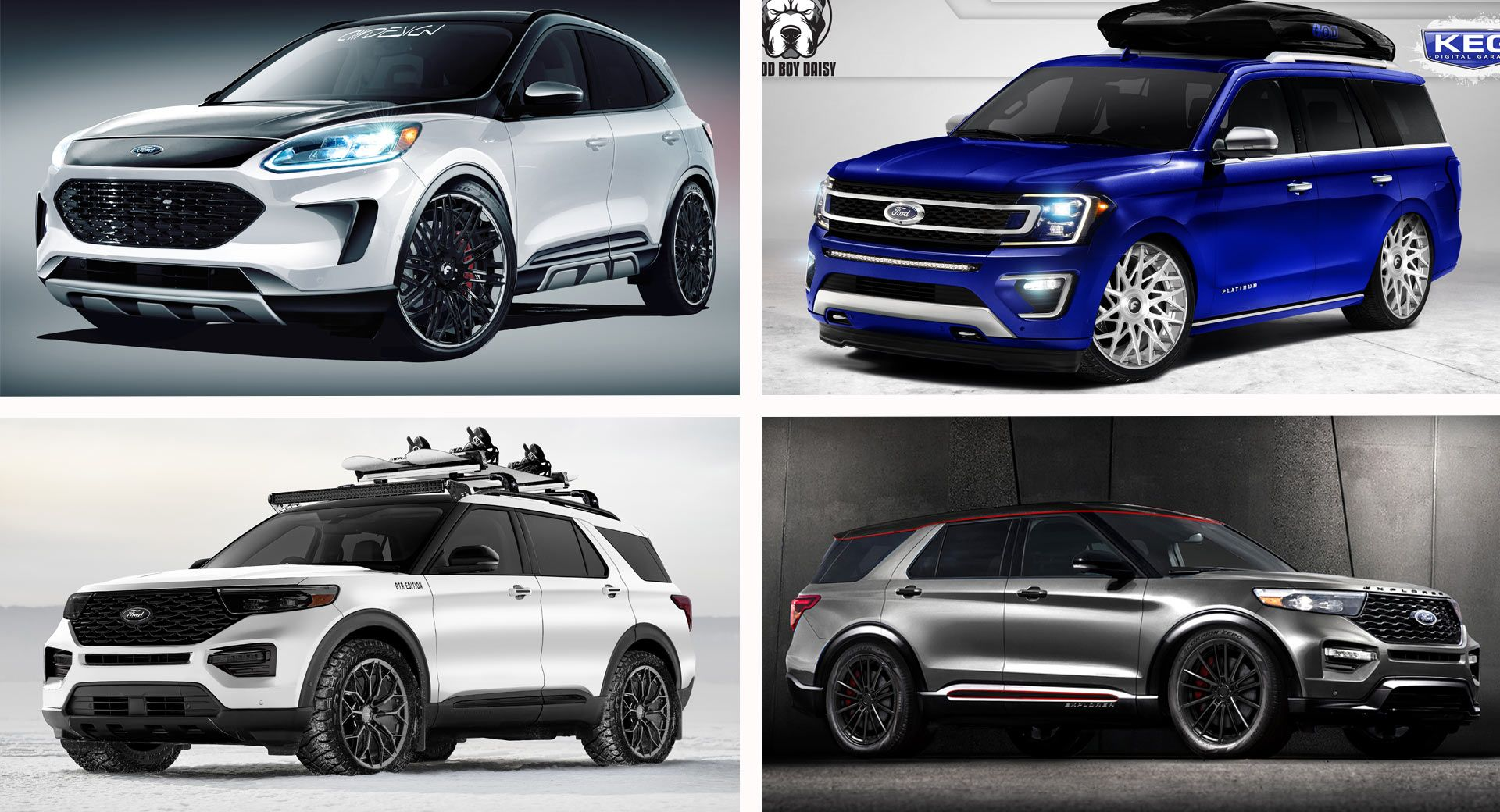 Ford S Bringing Eight Modified Crossovers And Suvs To Sema Ford