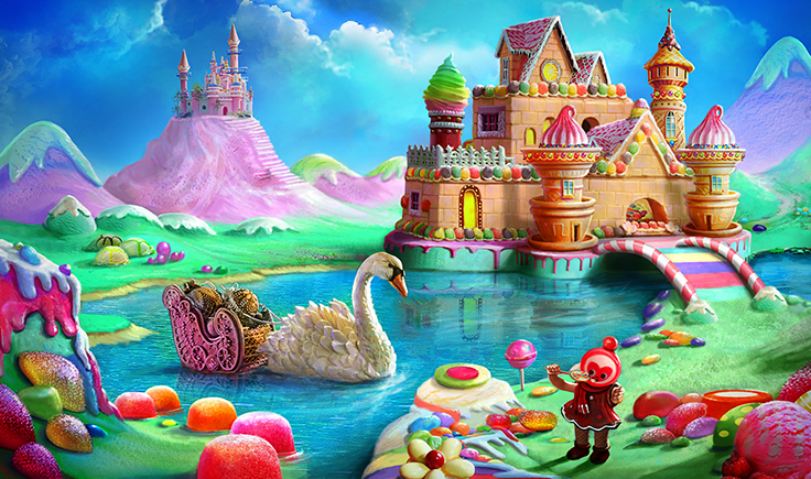 Gardens of Time / Candy Palace Arte