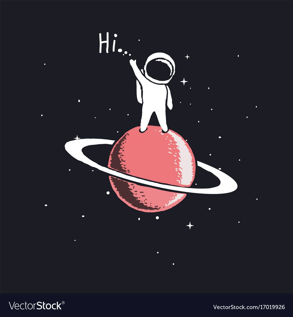 Wallpaper Hitam Astronot