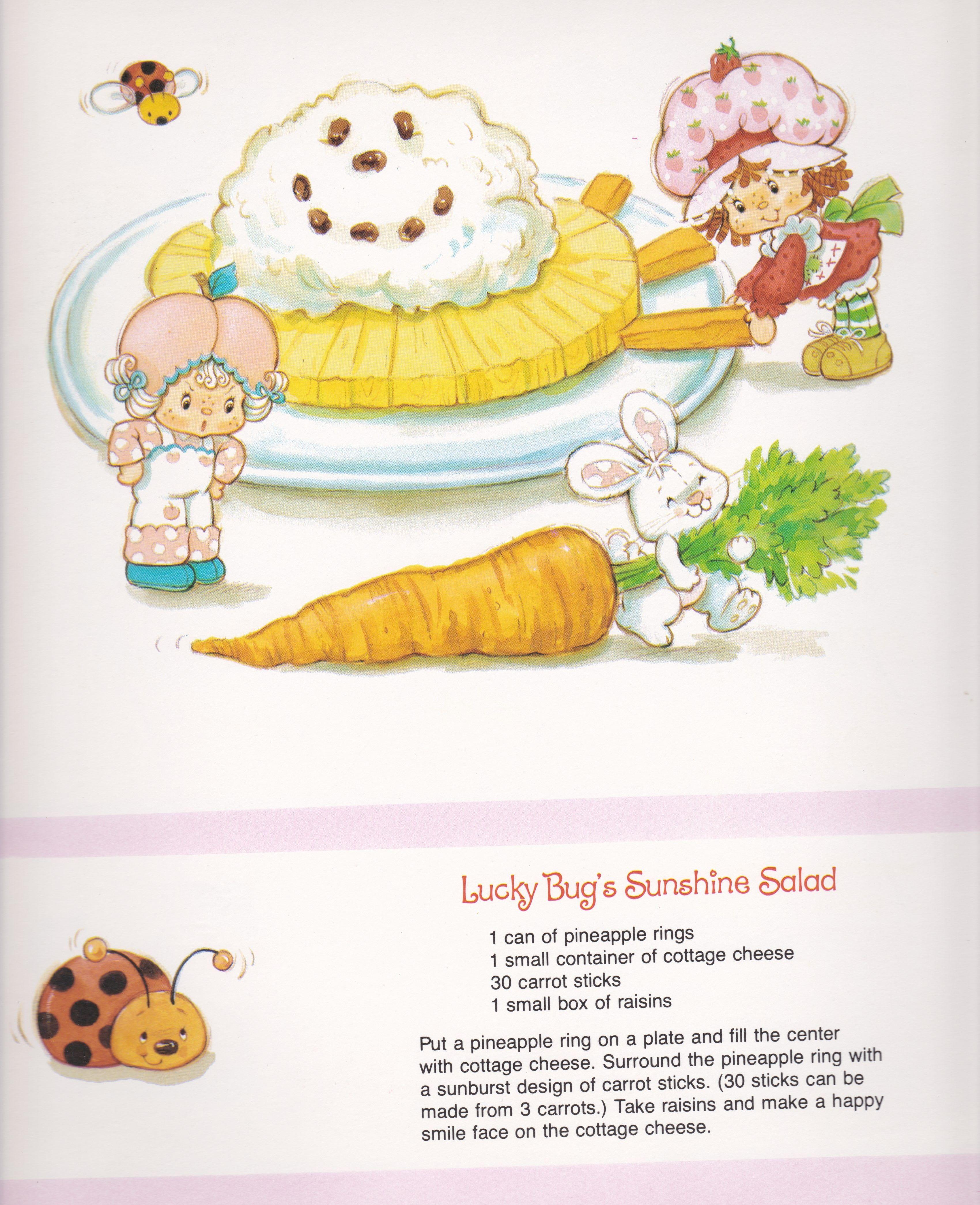 Vintage Strawberry Shortcake 1983 Sweet Treats Calendar - June ...