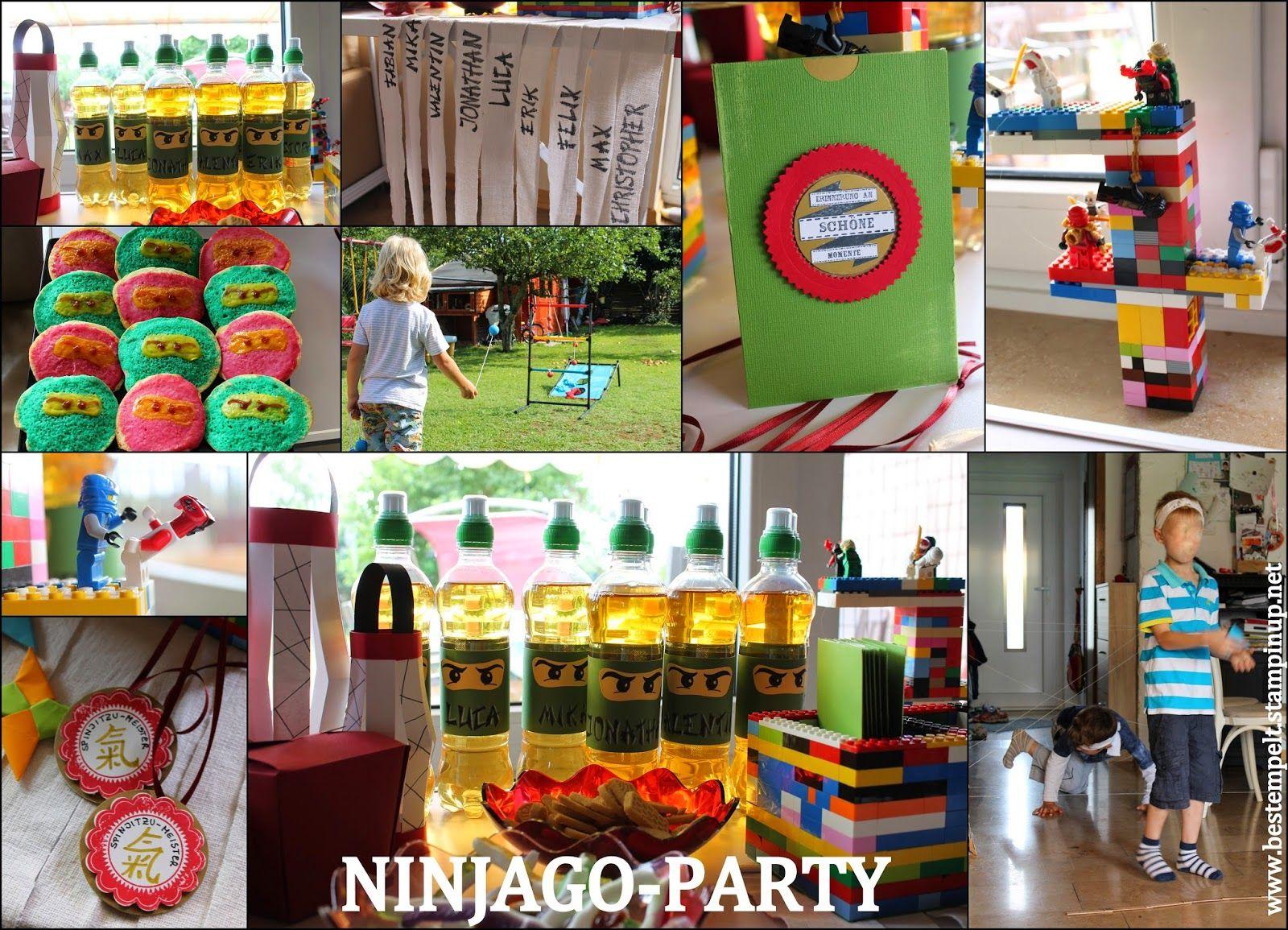 Geburtstagsparty für Ninja´s (mit Bildern