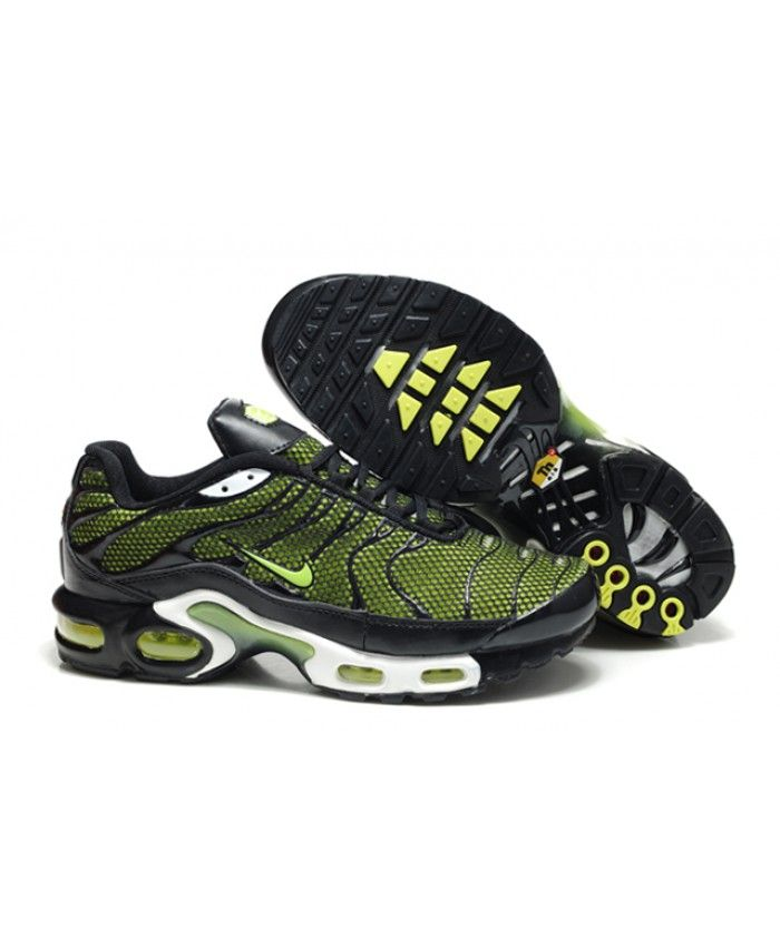latest discount genuine shoes top quality Black Friday Nike Air Max TN Mens Black Green Sale | Nike air max ...