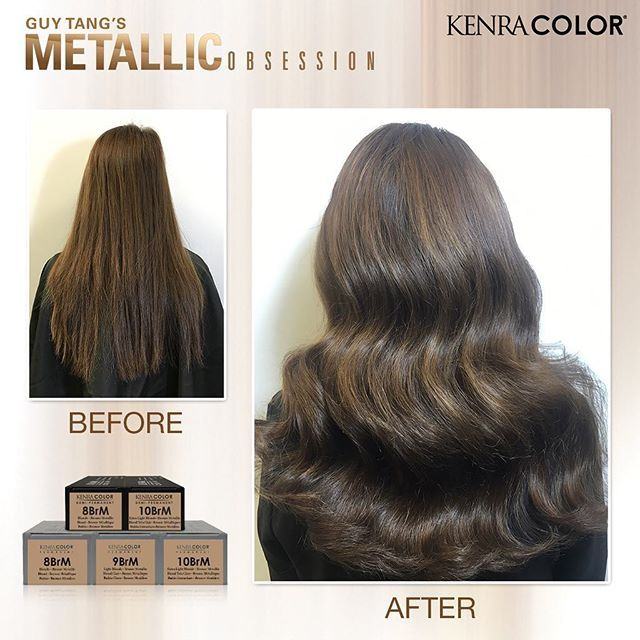 Brunette with Bronze Metallic Accents model from our ...