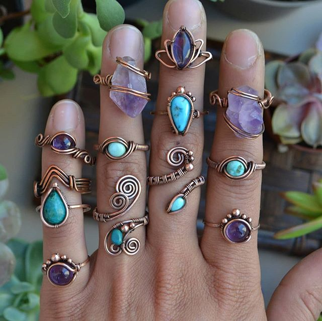 "Photo of Abbey ~ Wire Wrapped Crystals on Instagram: ""Shop update tomorrow at 5:30 p.m…."