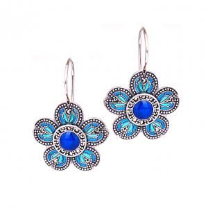 Est Kolczyki Srebro Markazyty Icze089 Verona Belly Button Rings Drop Earrings Jewelry