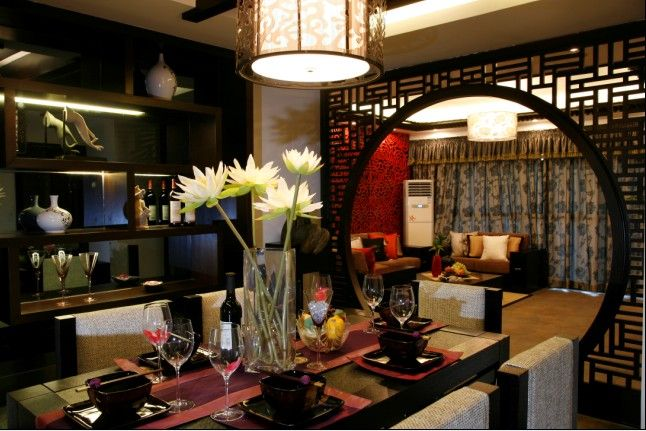 CHINESE STYLE INTERIORS | In fact this photos is Chinese culture ...
