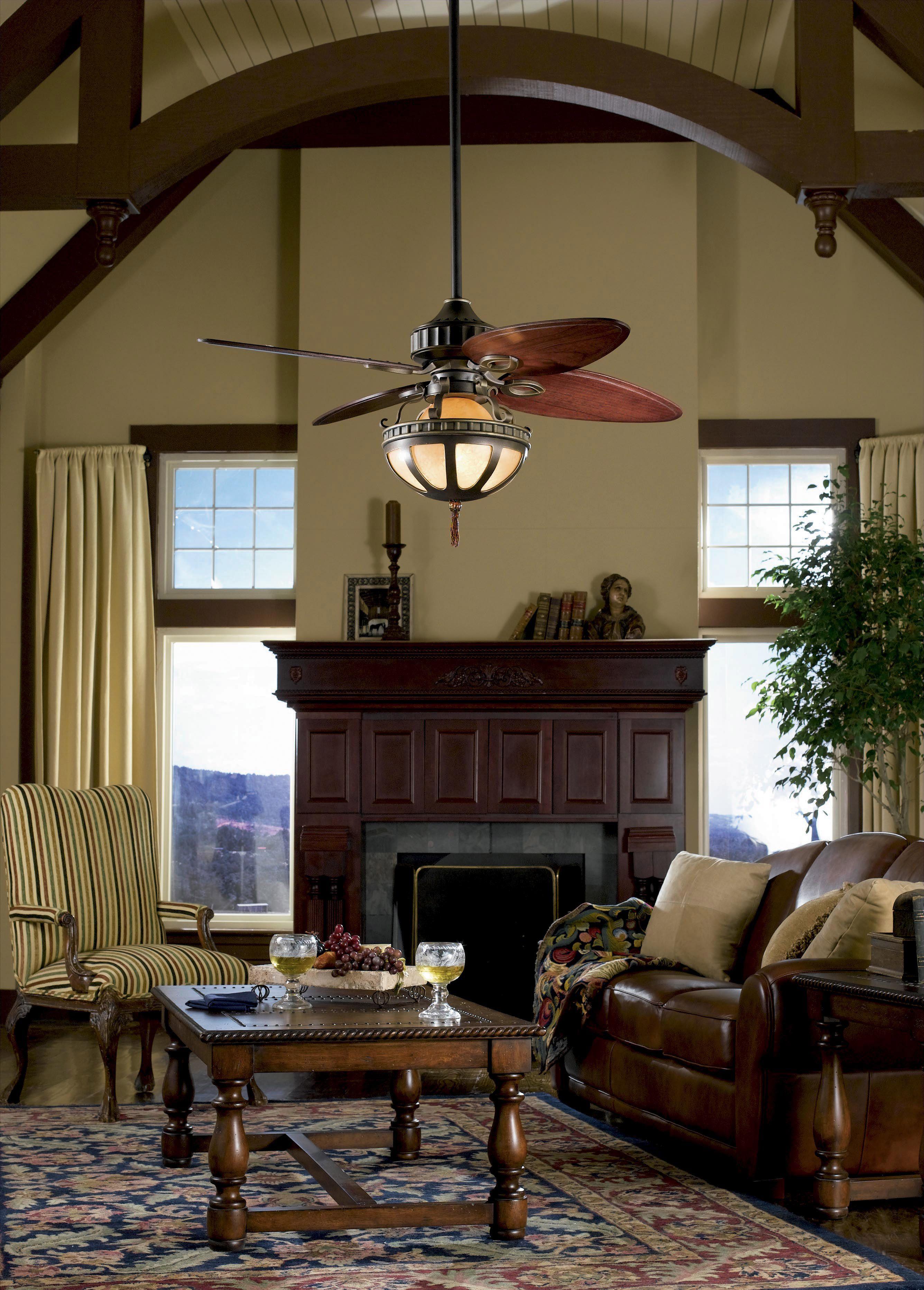 """Fanimation Bayhill Bronze 56"""" Ceiling Fan"""