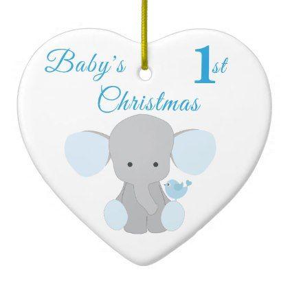 Elephant blue babys boy first christmas hanukkah ceramic ornament elephant blue babys boy first christmas hanukkah ceramic ornament baby gifts child new born gift negle Gallery