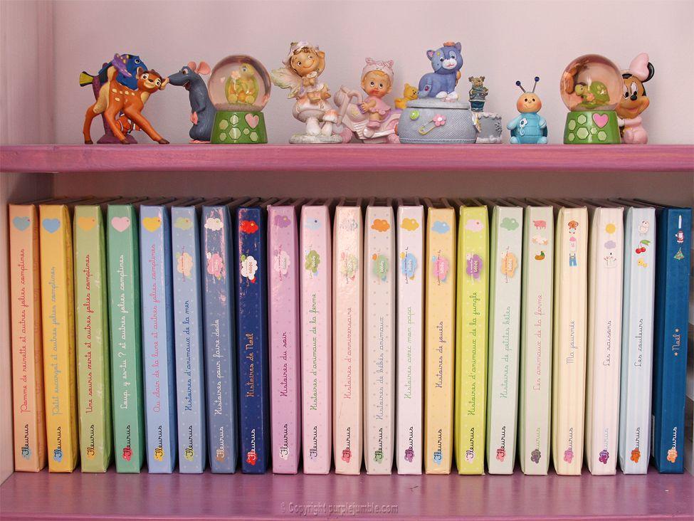 lectures coup de coeur pour enfants : collection Fleurus - Purple jumble
