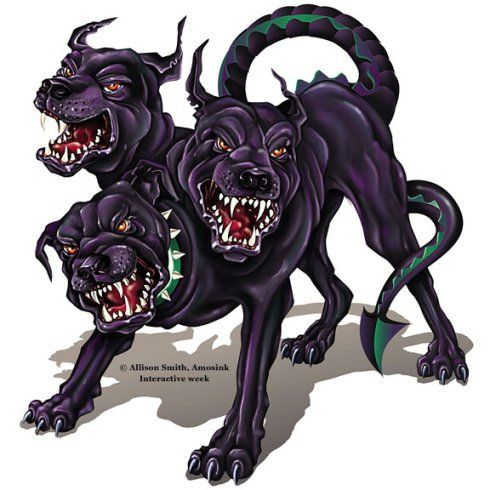 Cerberus Cerberus Mythical Creatures Art Japanese Myth