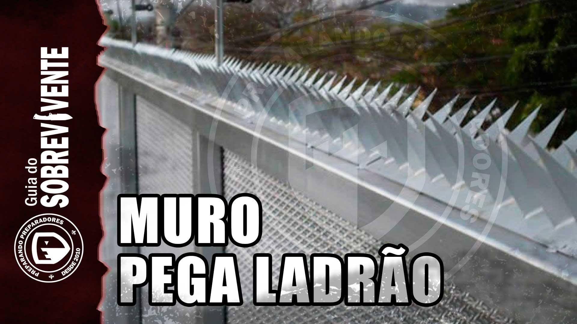 Protegendo muros contra invasões - Armadilha Mandíbula feita em casa