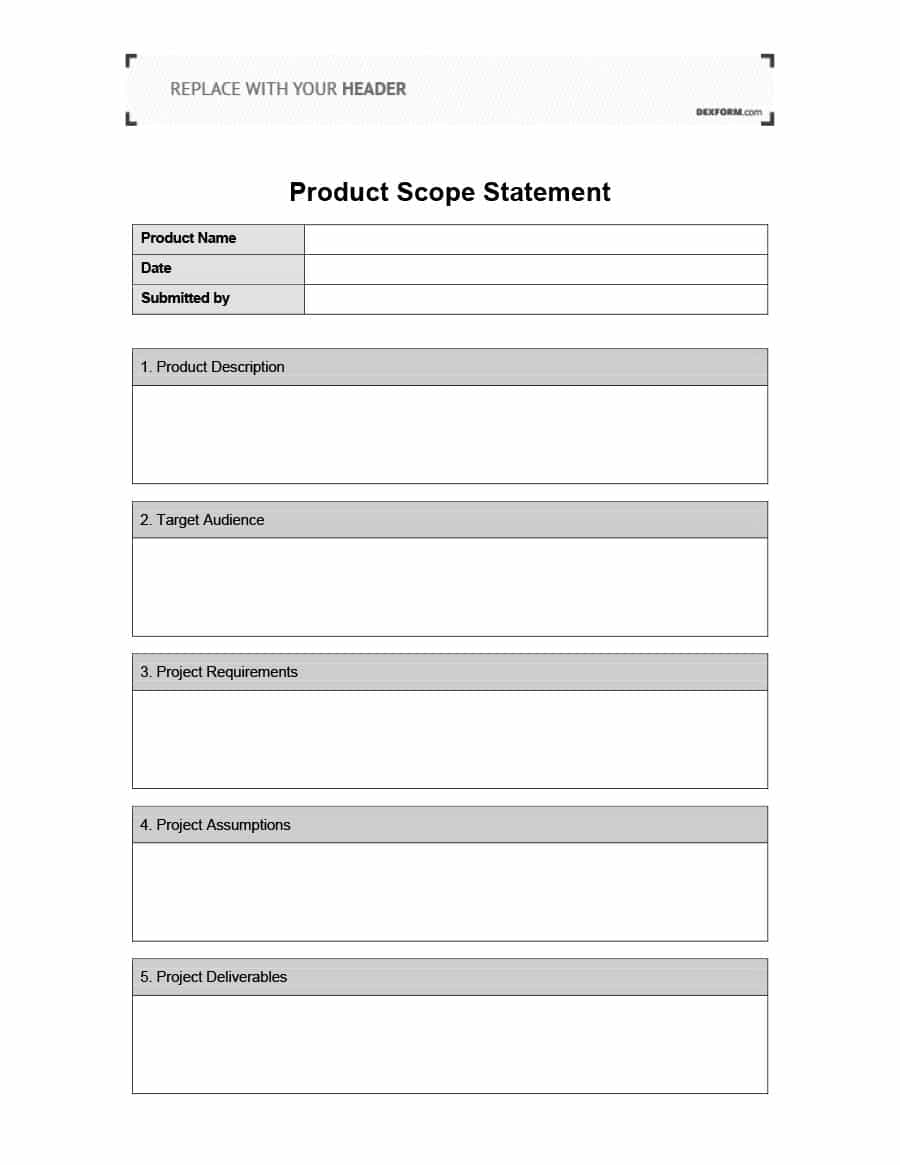 Project Scope Template Word from i.pinimg.com