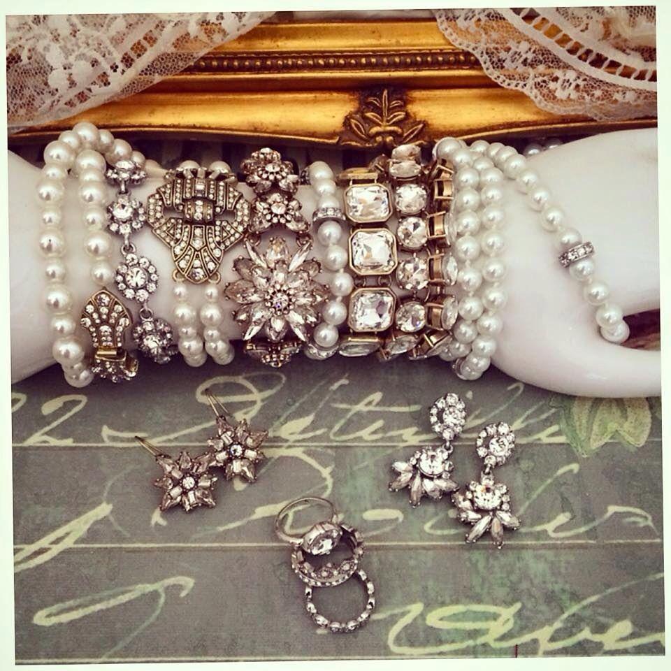 Beautiful bridal collection ! www.angiesjewelrybox.com