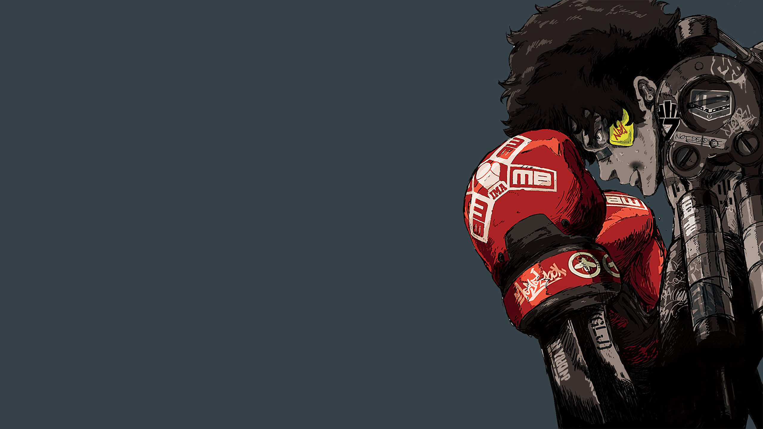 Megalo Box Textless Poster Wallpapers 2560 X 1440