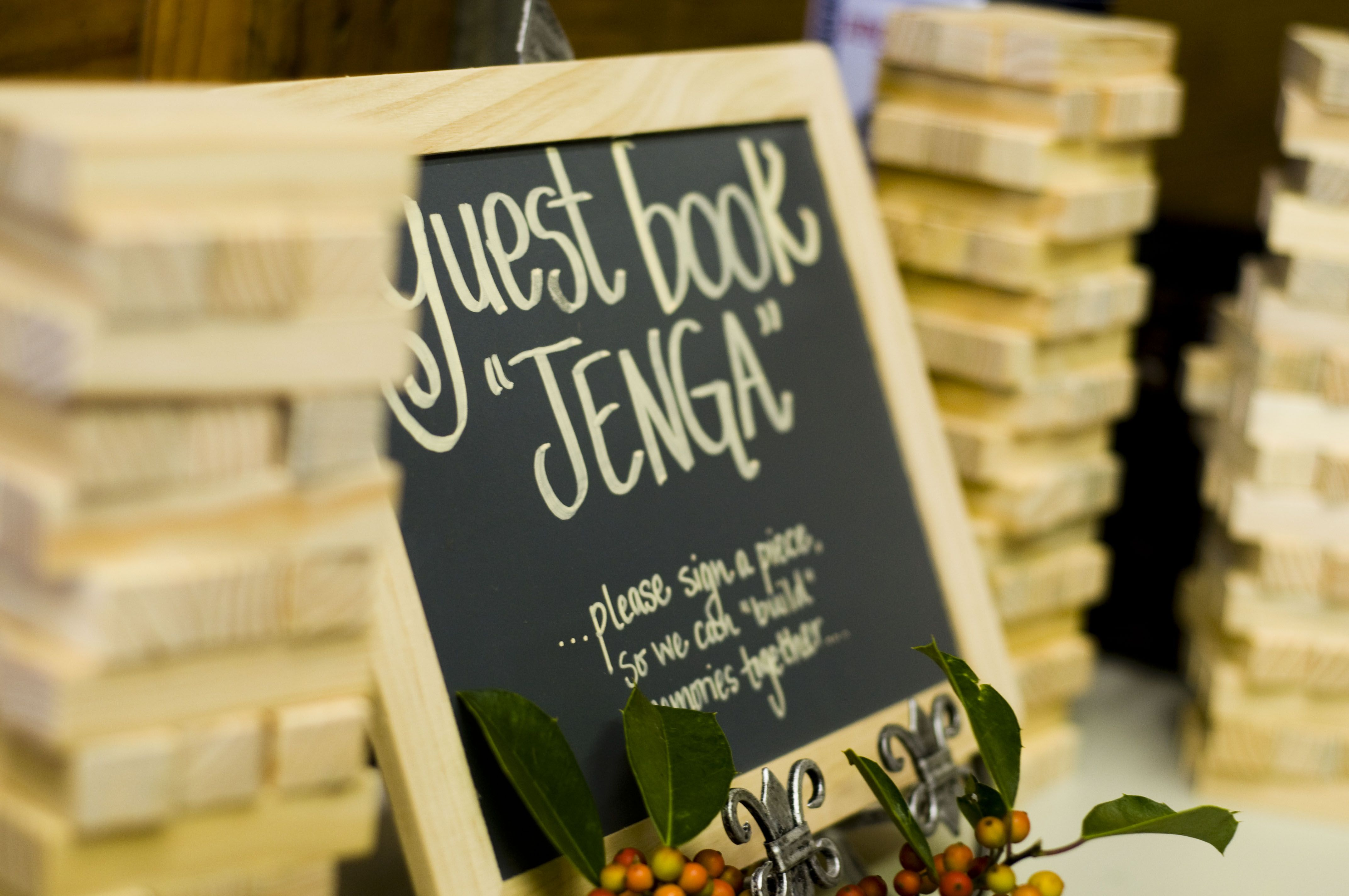 Jenga Wedding Guest Book Twenty First Jenga Wedding Guest Book Jenga Wedding Jenga Guest Book