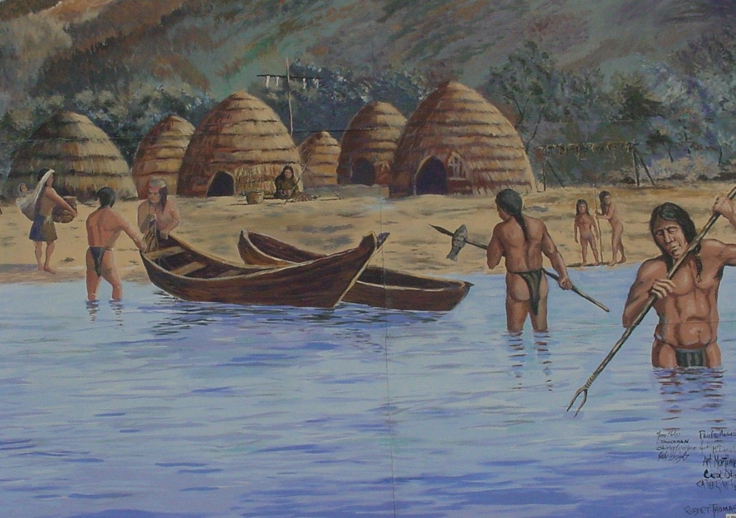 """an analysis of the chumash indians in the natives of california Solely to expedite your review, i am submitting the latest draft of the santa ynez band of chumash indians , """"point dume  southern california's."""