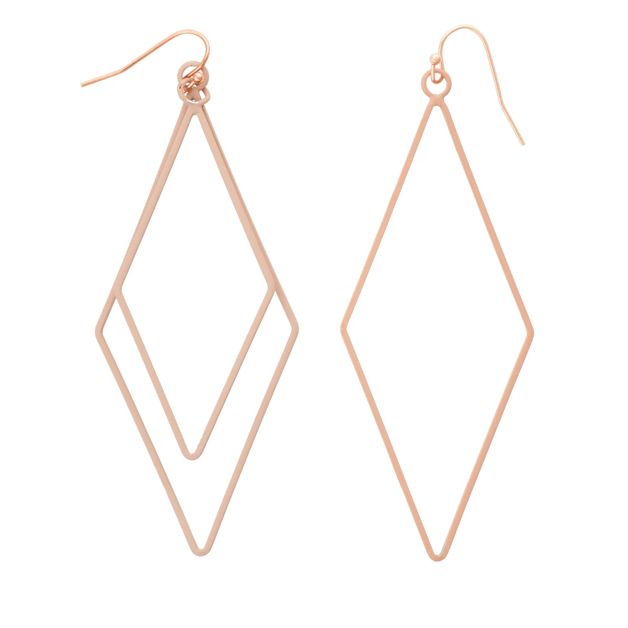 earrings michelson leaf asymmetrical mian silver product asymmetric vand annelise algae plated
