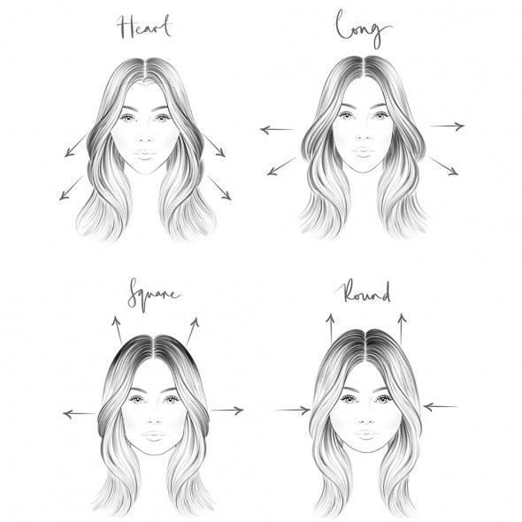 How to enhance your face shape using your hair