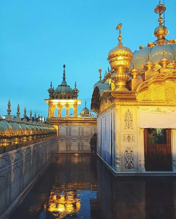 Shri Guru Granth Sahib: The Top Of Sri Darbar Sahib Ji...Dhan SIKHI