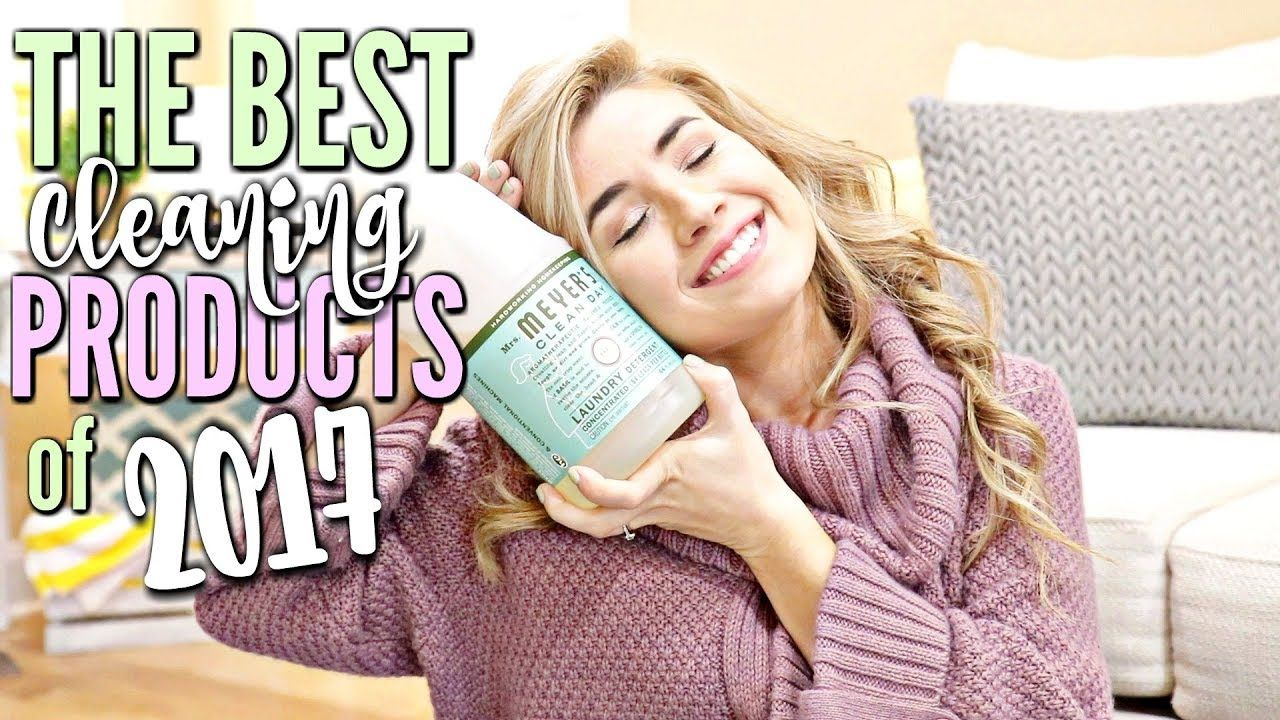 CLEANING PRODUCTS YOU NEED IN 2018 | MY FAVORITE CLEANING PRODUCTS OF 2017