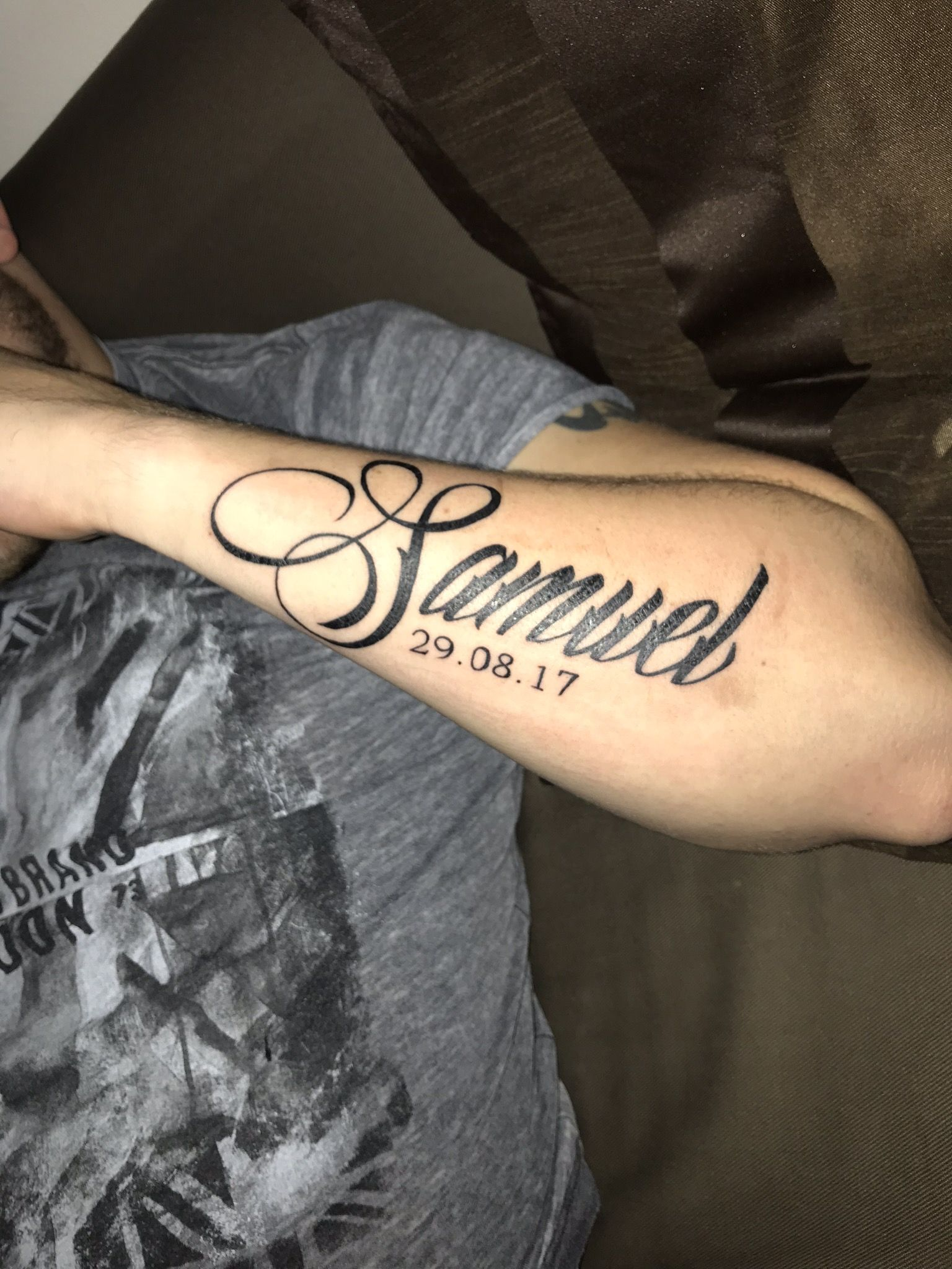 Tattoo Samuel Tatuajes De Nombres Tatuaje De Nombre De Hijo Tatuaje Nombre Hijos