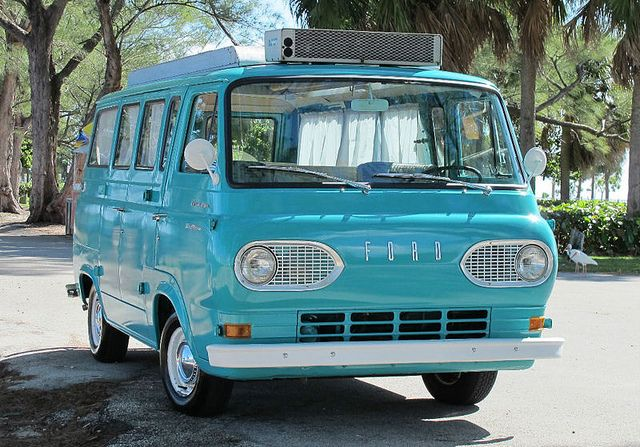 1961 Ford Econoline Van Camper It Was Purchased New In California