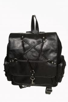 Jamie Pentagram Backpack by Banned Apparel