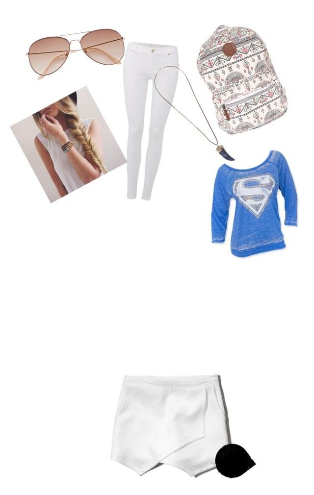 """My First Polyvore Outfit"" by mwenzel256 ❤ liked on Polyvore featuring Abercrombie & Fitch, Billabong, 7 For All Mankind, Topshop and H&M"