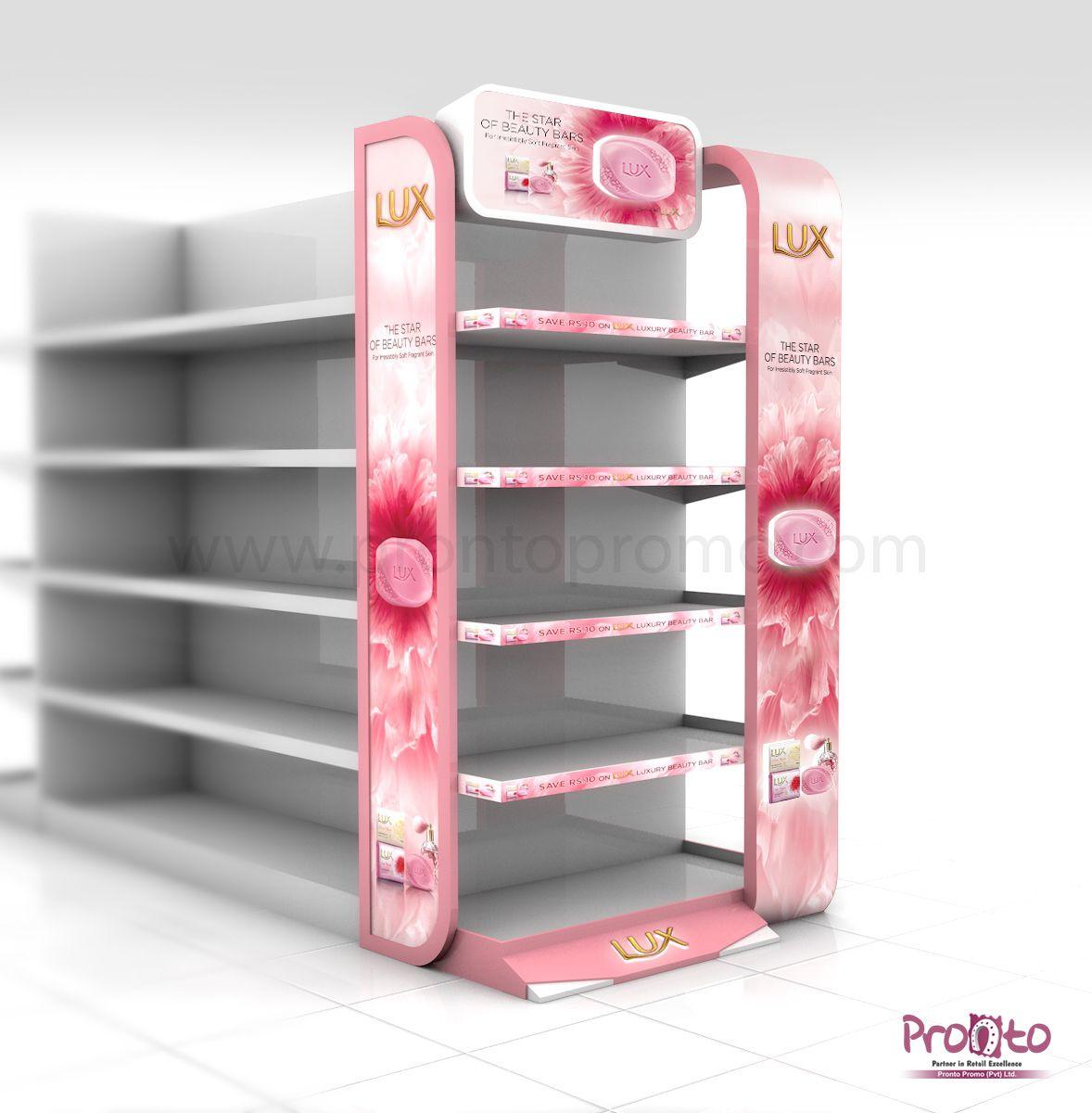 Lux Soap Display Podium Gondola S Hanging Display Design Concept  # Muebles Martinez Y Riquelme