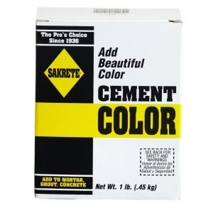 Sakrete 1 Lb Cement Color Charcoal 65075002 Cement Color Concrete Color Color Mixing