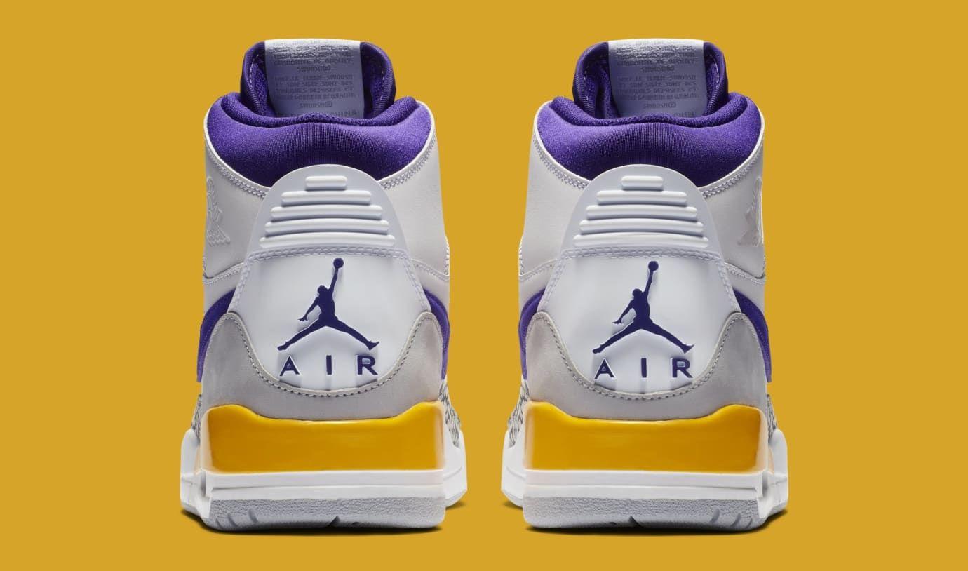 promo code de2e3 80371 Jordan Legacy 312  White Field Purple-Amarillo  AV3922-157 (Heel)