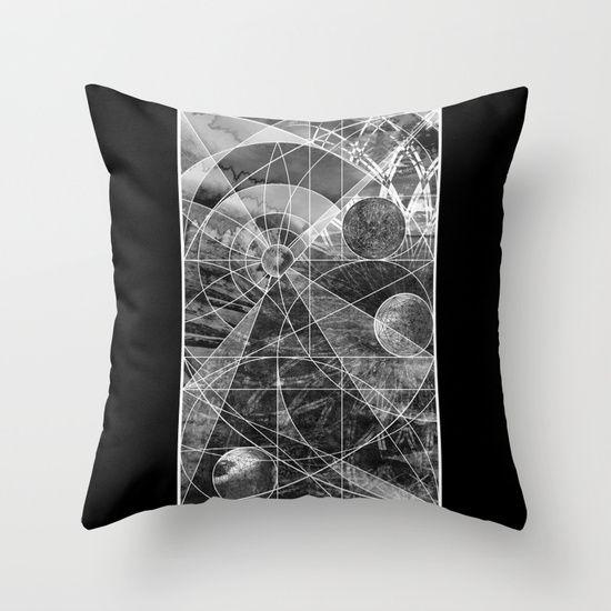 Geometric Vertical 2 Throw Pillow