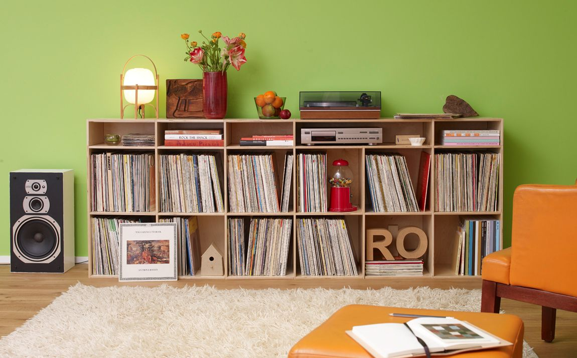 Lp Regal Record Shelf Stuttgart Apartment In 2018 Pinterest Vinyl