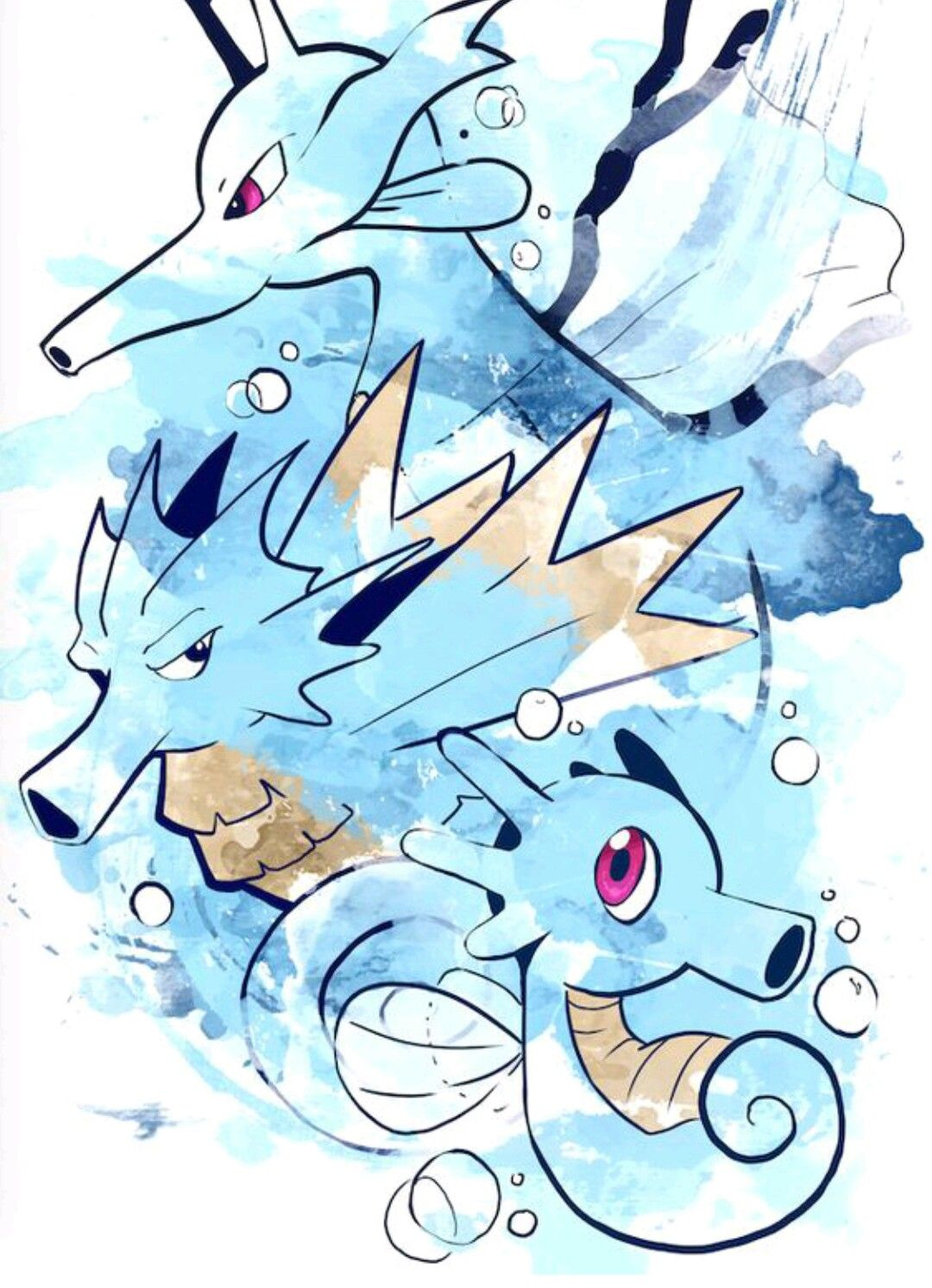 Horsea Pokemon Evolution