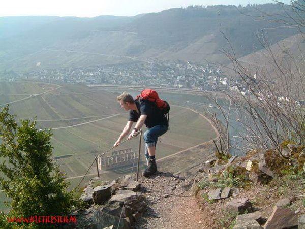 Klettersteig Pfalz : Klettersteig.de klettersteig beschreibung calmont