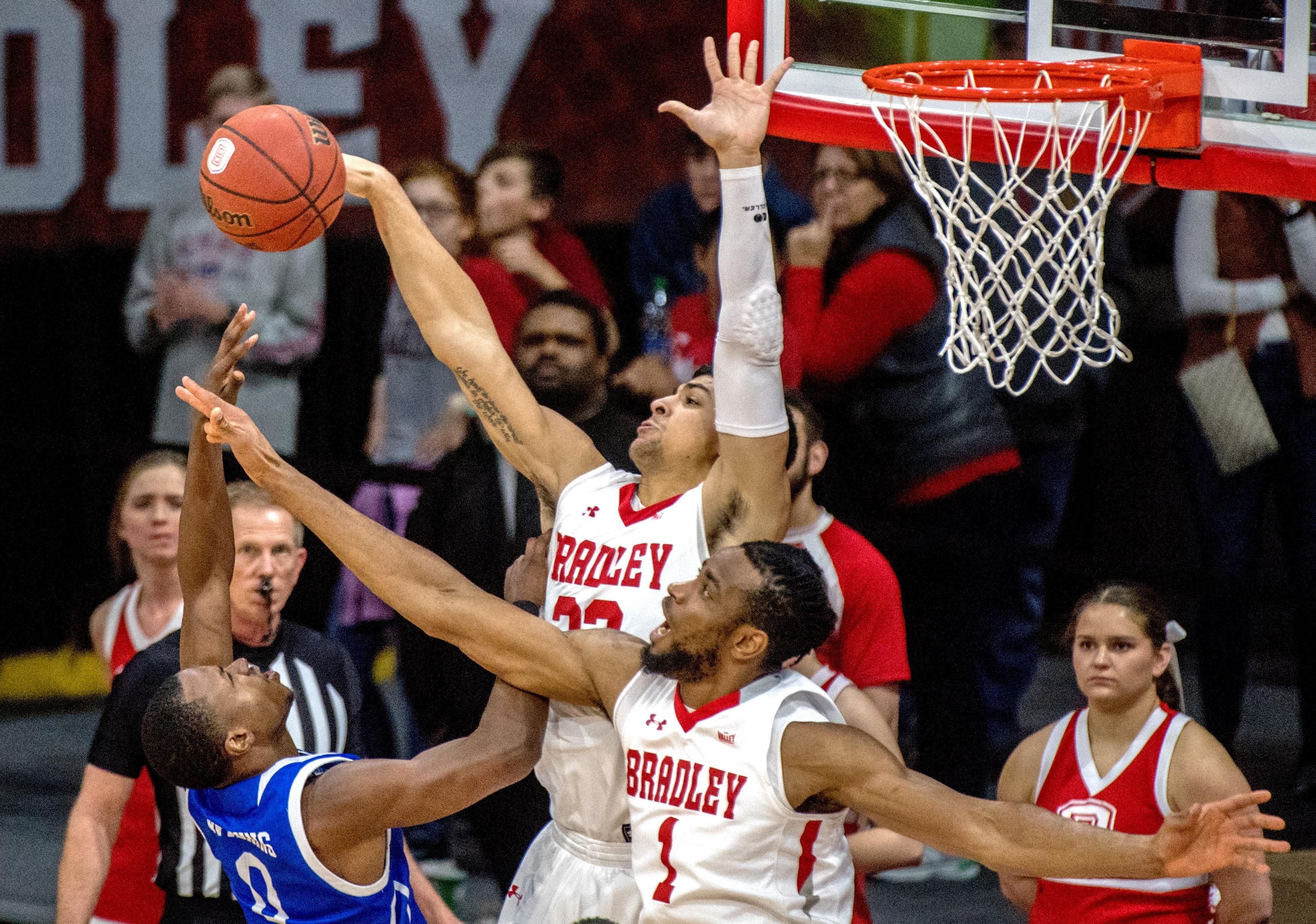 College basketball Bradley vs. Drake in 2020 College