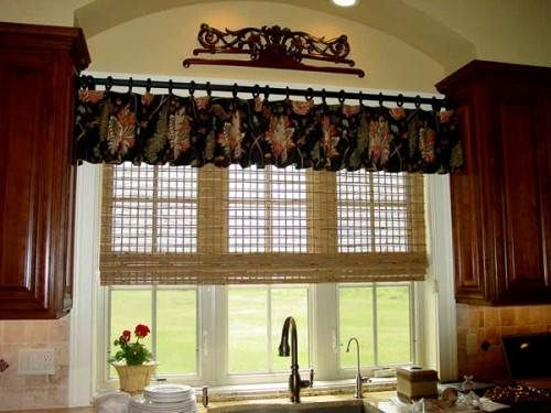 French Country Kitchen Curtain Idea The Interior Design Inspiration Board Country Kitchen Curtains Kitchen Curtain Designs Modern Kitchen Curtains