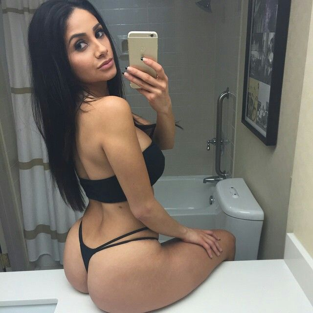 Adult female latino asses
