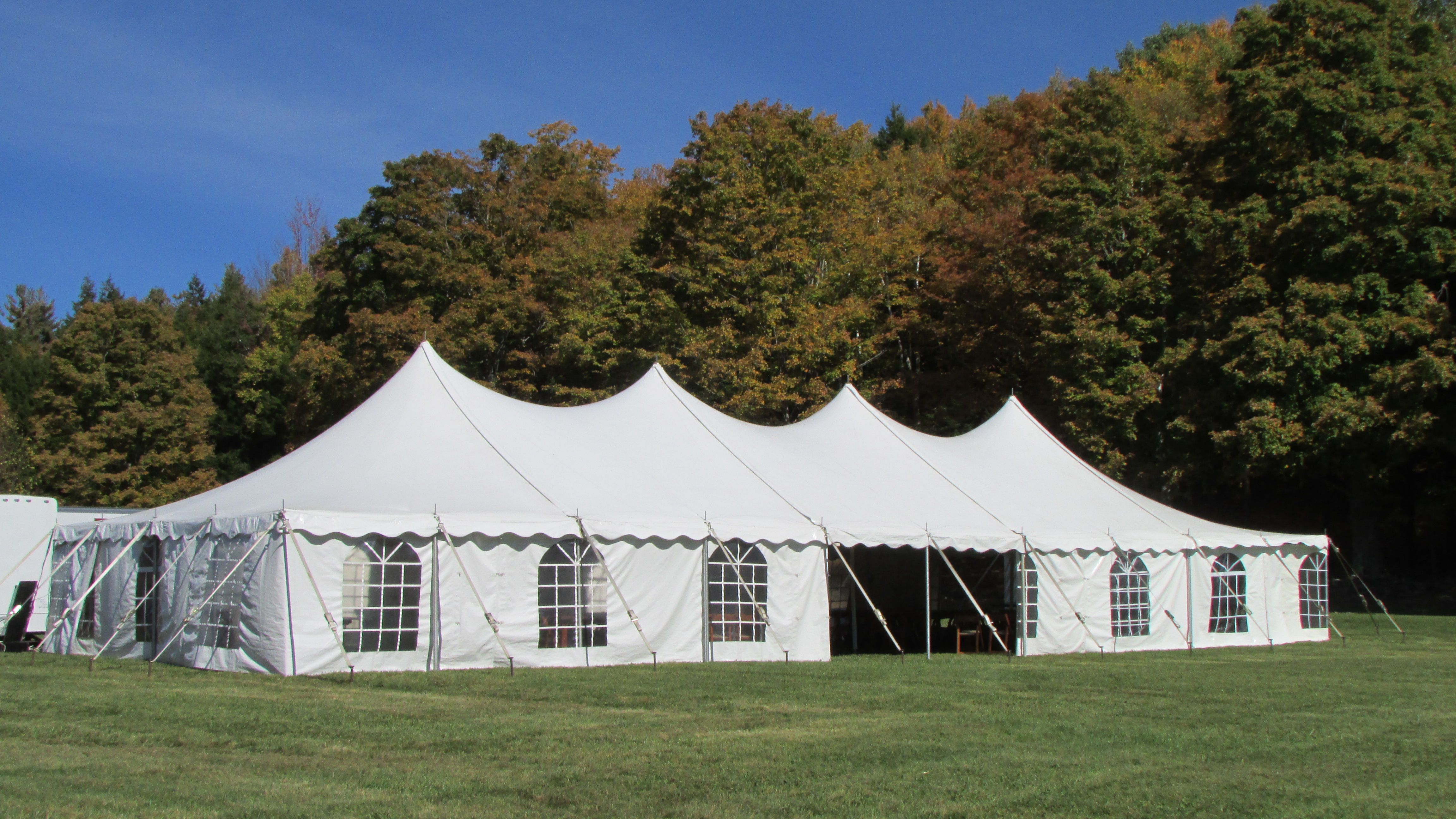 40 x 100 Wedding Tent with Cathedral Window Sides & 40 x 100 Wedding Tent with Cathedral Window Sides | Tent Photos ...