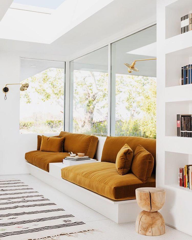 Retro Sunken Living Room Design Inspiration Built In Sofa Sunken Living Room Living Room Design Inspiration Amazing sunken living room designs