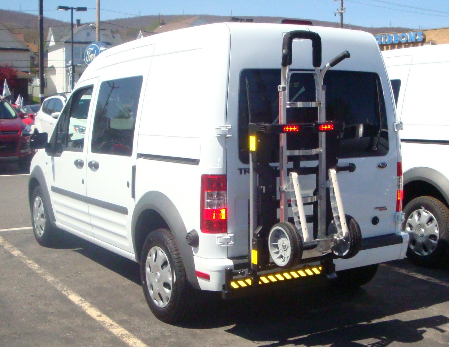 Hts systems ford transit hts20sft ultrarack unit is