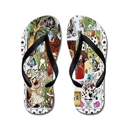 b37dfc228133c Poppylife Girls Wonderland Flip Flops Adults M Blue     Read more reviews  of the product by visiting the link on the image.
