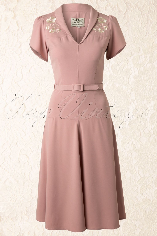 40s Hetti Tea Dress Pink   Pinterest   Vestiditos, Proyectos de ...
