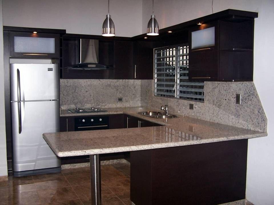 Modelos De Cocinas Empotradas Pequeñas Para Apartamentos. \