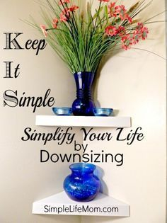 Simplify by Downsizing - ideas and inspiration to help you simplify your life by Downsizing. #TinyHouseNation #FYI #BH #ad