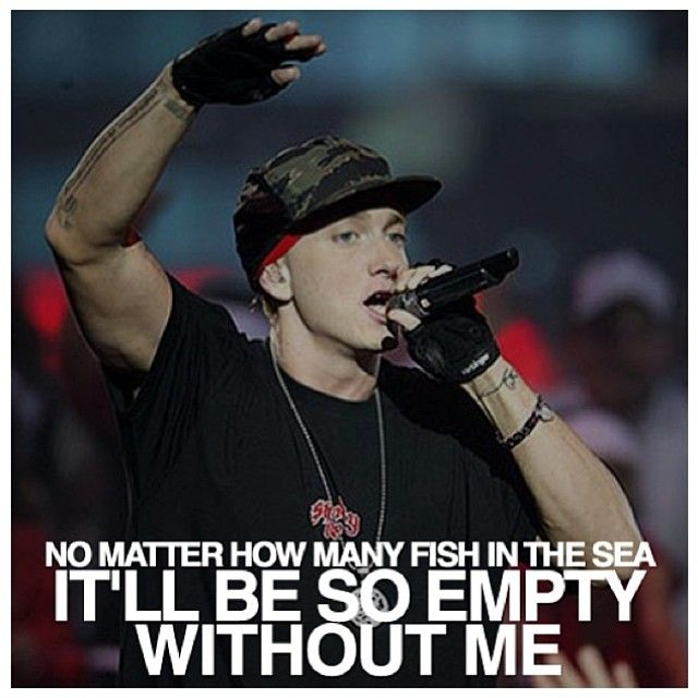 """Eminem Song Lyric Quotes: Eminem Quote From """"Without Me"""""""